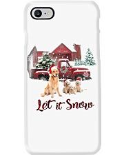 GOLDEN RETRIEVER LET IS SNOW Phone Case thumbnail