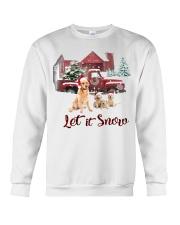 GOLDEN RETRIEVER LET IS SNOW Crewneck Sweatshirt thumbnail