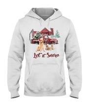 GOLDEN RETRIEVER LET IS SNOW Hooded Sweatshirt thumbnail