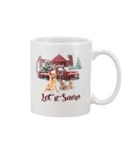 GOLDEN RETRIEVER LET IS SNOW Mug thumbnail