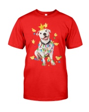 New Pitbull Christmas Classic T-Shirt thumbnail