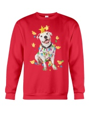 New Pitbull Christmas Crewneck Sweatshirt front