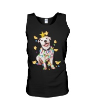 New Pitbull Christmas Unisex Tank thumbnail