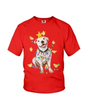 New Pitbull Christmas Youth T-Shirt thumbnail