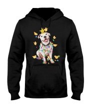 New Pitbull Christmas Hooded Sweatshirt thumbnail