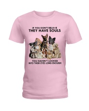 Dogs Limited Edition Ladies T-Shirt thumbnail