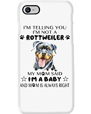 I'm Not Rottweiler i'm a Baby Phone Case thumbnail