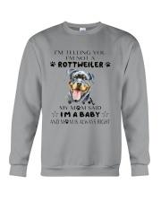 I'm Not Rottweiler i'm a Baby Crewneck Sweatshirt thumbnail