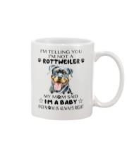 I'm Not Rottweiler i'm a Baby Mug thumbnail