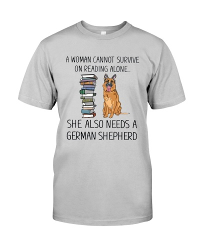 Woman Need German Shepherd