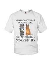 Woman Need German Shepherd Youth T-Shirt thumbnail