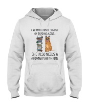 Woman Need German Shepherd Hooded Sweatshirt thumbnail