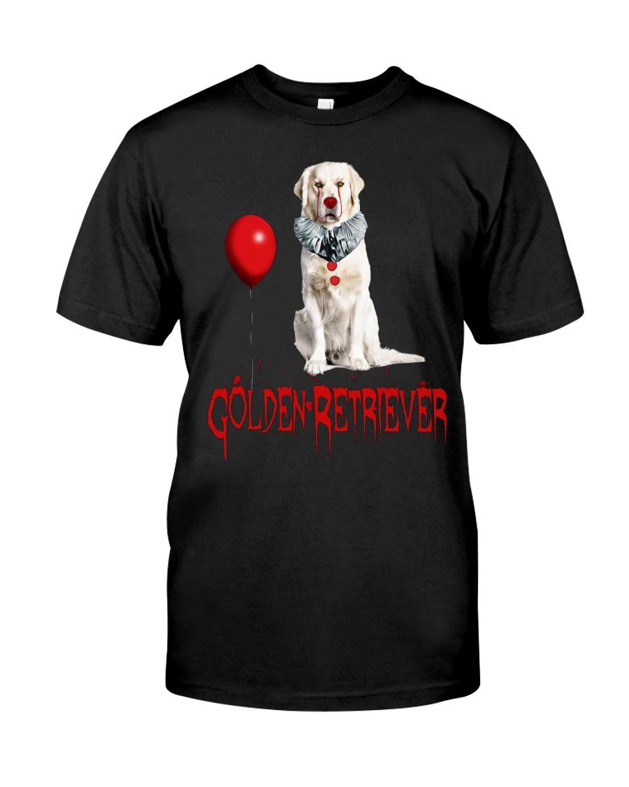 Golden Retriever Halloween Classic T-Shirt