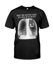 German Shepherd X-ray Of My Heart Classic T-Shirt thumbnail