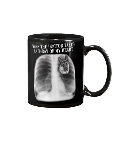 German Shepherd X-ray Of My Heart