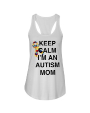 Autism Ladies Flowy Tank tile