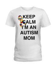 Autism Ladies T-Shirt front