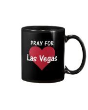 Pray for Las Vegas Big Heart T-Shirt Mug thumbnail