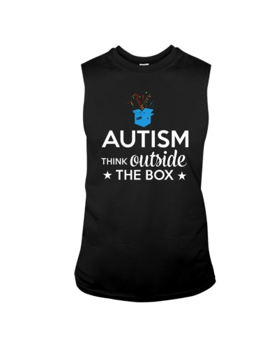 Autism Think outside the box T-Shirt