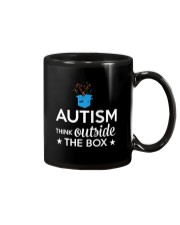 Autism Think outside the box T-Shirt Mug thumbnail