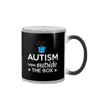 Autism Think outside the box T-Shirt Color Changing Mug thumbnail