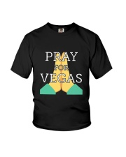 PRAY FOR VEGAS Shirts Youth T-Shirt thumbnail