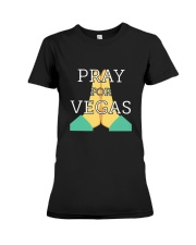 PRAY FOR VEGAS Shirts Premium Fit Ladies Tee thumbnail