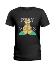 PRAY FOR VEGAS Shirts Ladies T-Shirt thumbnail
