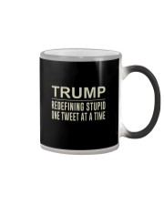 Trump - Redefining Stupid One Tweet At a Time Tee Color Changing Mug thumbnail