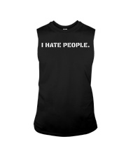 I Hate People T-shirt Sleeveless Tee thumbnail
