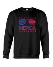 American Flag Sunglasses T-Shirt Crewneck Sweatshirt thumbnail