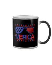 American Flag Sunglasses T-Shirt Color Changing Mug thumbnail