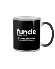 Funcle Definition T-shirt Color Changing Mug thumbnail