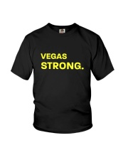 VEGAS STRONG LAS VEGAS Shirts Youth T-Shirt thumbnail