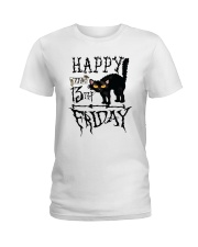 Happy the 13th Friday Shirt Ladies T-Shirt front