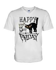 Happy the 13th Friday Shirt V-Neck T-Shirt thumbnail