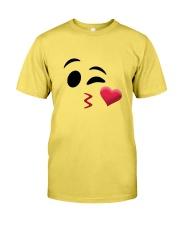 Halloween Emoji Kiss Shirt Premium Fit Mens Tee thumbnail