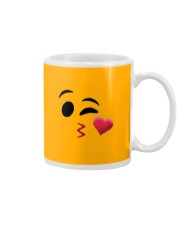 Halloween Emoji Kiss Shirt Mug thumbnail