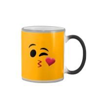 Halloween Emoji Kiss Shirt Color Changing Mug thumbnail