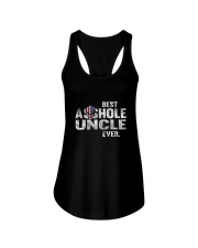 BEST ASSHOLE UNCLE EVER T-SHIRT - FUNNY T SHIRT Ladies Flowy Tank thumbnail