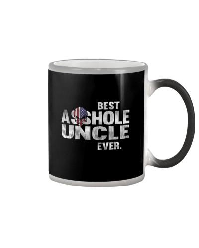 BEST ASSHOLE UNCLE EVER T-SHIRT - FUNNY T SHIRT