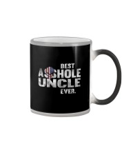 BEST ASSHOLE UNCLE EVER T-SHIRT - FUNNY T SHIRT Color Changing Mug thumbnail