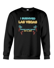I SURVIVED LAS VEGAS T-SHIRT Crewneck Sweatshirt thumbnail