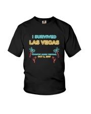 I SURVIVED LAS VEGAS T-SHIRT Youth T-Shirt thumbnail