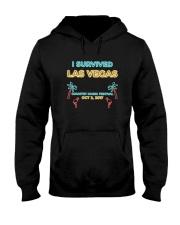 I SURVIVED LAS VEGAS T-SHIRT Hooded Sweatshirt thumbnail