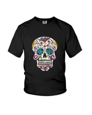 Day of the Dead Sugar Skull T-Shirt Youth T-Shirt thumbnail