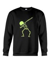 Dabbing Skeleton Halloween  Dab Hip Hop T-Shirt Crewneck Sweatshirt thumbnail
