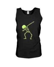 Dabbing Skeleton Halloween  Dab Hip Hop T-Shirt Unisex Tank thumbnail
