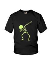Dabbing Skeleton Halloween  Dab Hip Hop T-Shirt Youth T-Shirt thumbnail