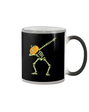 Dabbing Skeleton Halloween  Dab Hip Hop T-Shirt Color Changing Mug thumbnail